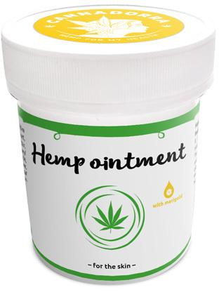 Hemp ointment with marigold for the skin 100ml