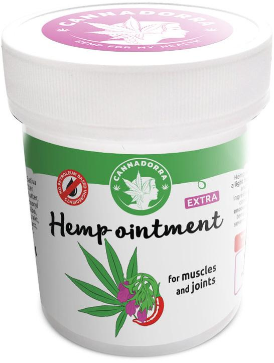 Chilly Hemp ointment - muscles and joints