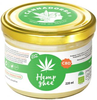 CBD Hemp Butter - Ghee 220ml by Cannadorra
