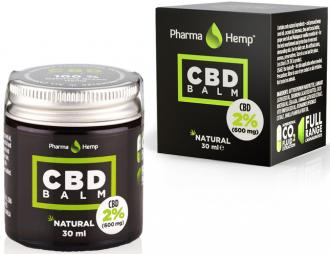 CBD balm 600mg  30ml by Pharmahemp Ireland
