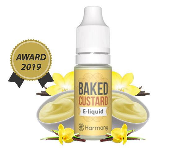 Harmony Baked Custard CBD E-Liquid in Ireland