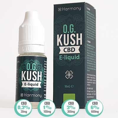 OG KUSH Cannabis E LIQUID in Ireland