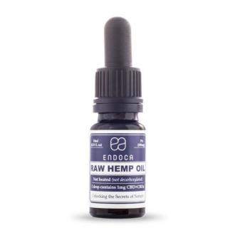 RAW  CBD Hemp Oil Drops 300mg CBD + CBDa (3%) by Endoca