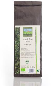 Organic hemp tea natural 40g by Hanf Farm