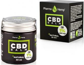 CBD balm 1% 30ml by Pharmahemp  Ireland
