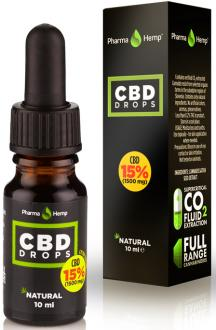 CBD OIL DROPS 15% BY PHARMAHEMP