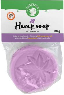 Hemp soap with Lavender 80 g by Cannadorra