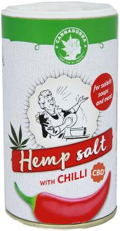 Hemp salt with Chili 165g by Cannadorra