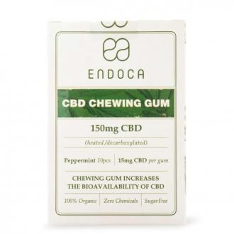 CBD Hemp chewing gum by Endoca 150mg CBD