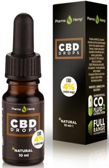 CBD OIL DROPS 4% BY PHARMAHEMP