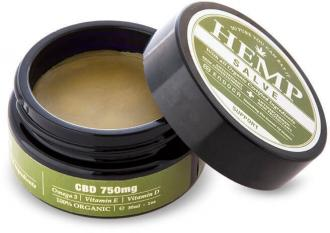 30 ml Hemp Salve (750mg CBD) by Endoca