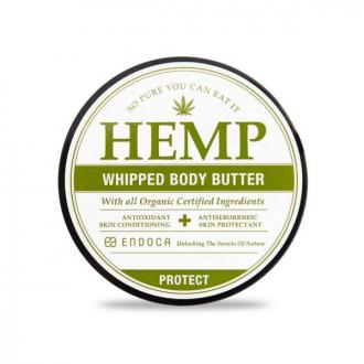 CBD Hemp Whipped Body Butter (1500mg CBD) by Endoca