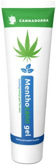 Menthocann - cooling hemp gel with mint 100ml