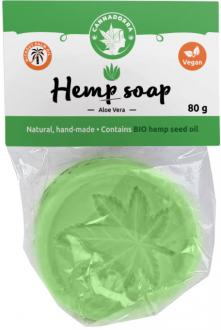 Hemp soap with Aloe Vera 80 g by Cannadorra