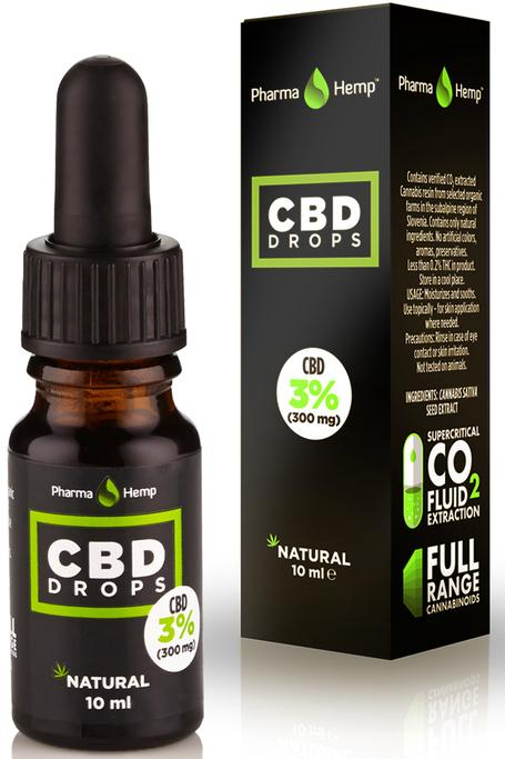 CBD DROPS 3% | 10ml by Pharma Hemp